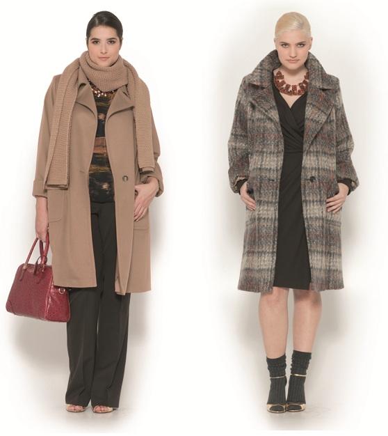 Коллекция Марины Ринальди Осень Зима 2013 Женская Одежда