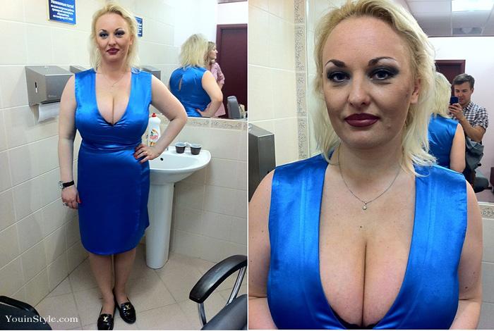 Оксана Ивасюк на Модном приговоре